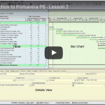 Introduction to P6 - Lesson 2