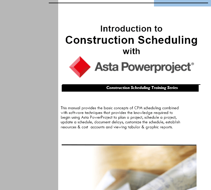 Powerproject Training Manual: Overview