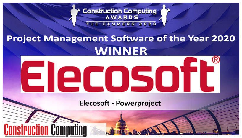 Powerproject Awarded 7th Management Software of the Year Award